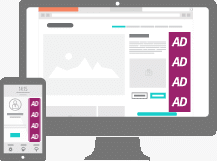 Text Ad Format - Vertical